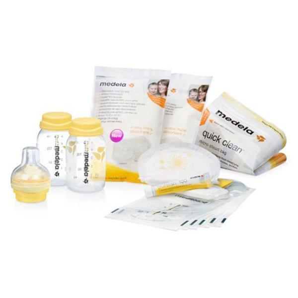 Medela Стартов комплект за успешно кърмене  - с антиколик система 008.0380